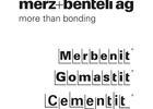 Cementit, Gomastit und Merbenit von merz+benteli
